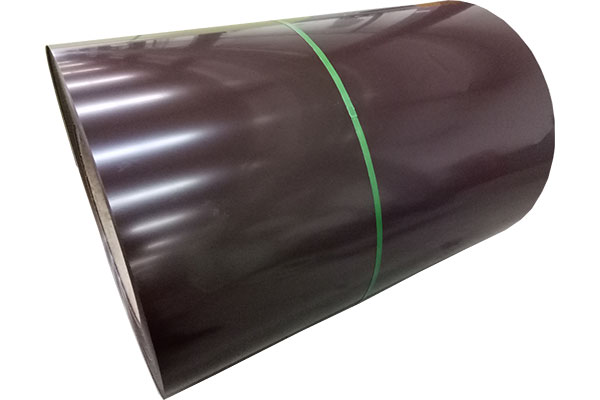 Color coated steel plate